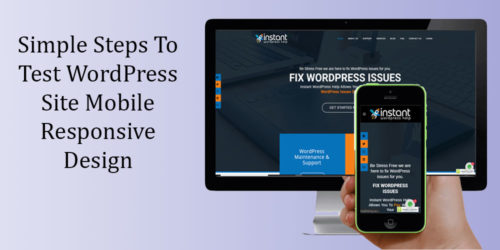 Simple Steps To Test WordPress Site Mobile Responsive Design