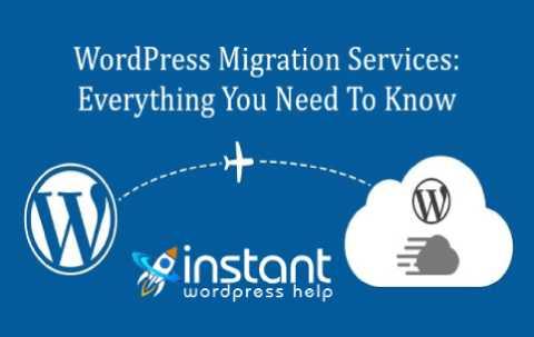 WordPress Site Migration