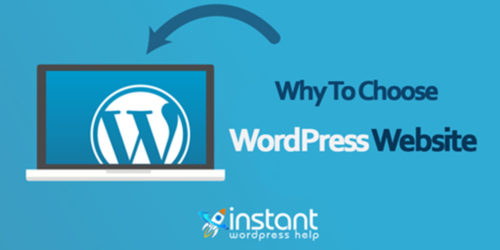 Why to choose wordpress website?